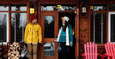 Luxe Wintersport Jasper: Fairmont Jasper Park Lodge