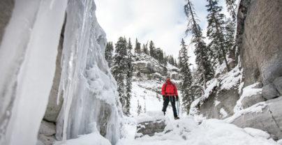 Ski- en canyonavontuur in Jasper