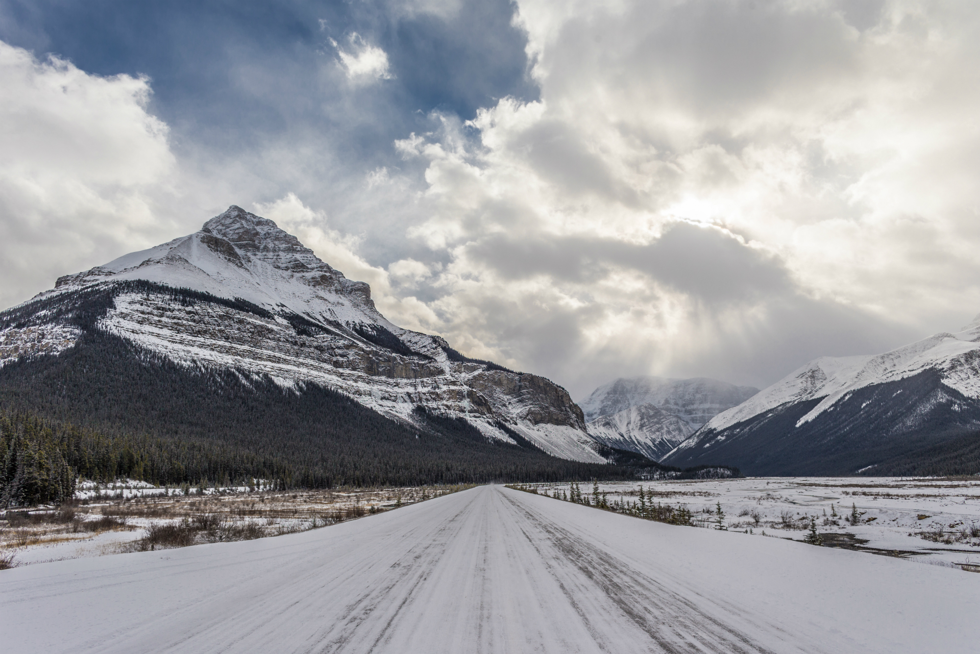 Columbia Ice Fields in Canada