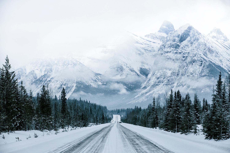 Icefields Parkway, Jasper National Park, Canada