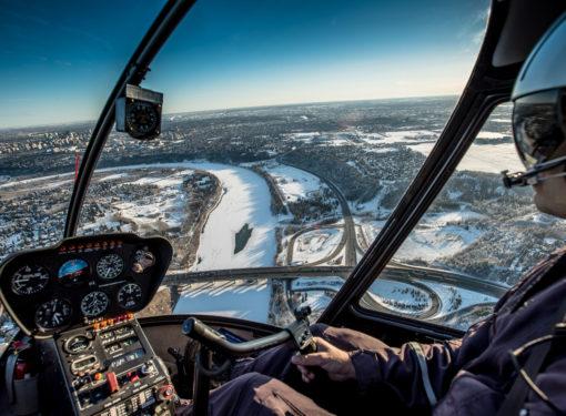Helicopter Edmonton
