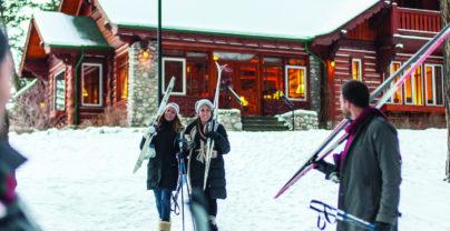 Luxe skiweek in Canada