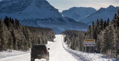 Winterse roadtrip door Alberta in Canada