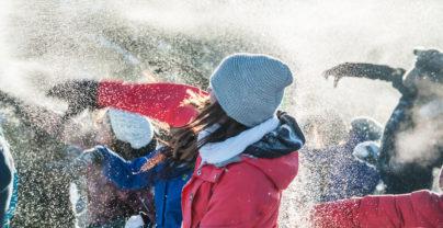 Canada trapt op 12 oktober de winter af met sneeuwballengevecht in Rotterdam