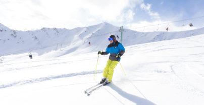 Wintersportavontuur in Jasper