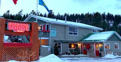 Wintersport in Jasper Cabins