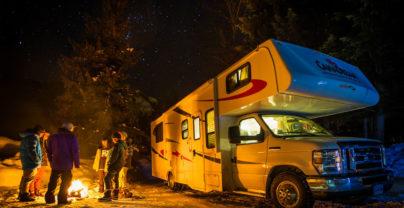 Nieuw: kamperen tijdens je wintertrip naar Jasper in Canada