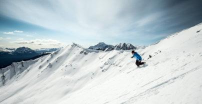 Actieve winteravonturen in de Rockies