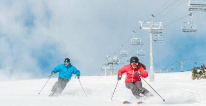 Ongelimiteerd skiën in Jasper