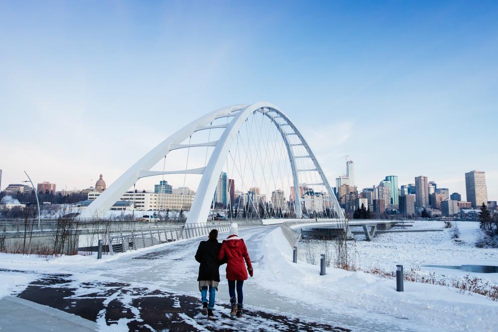 Edmonton view