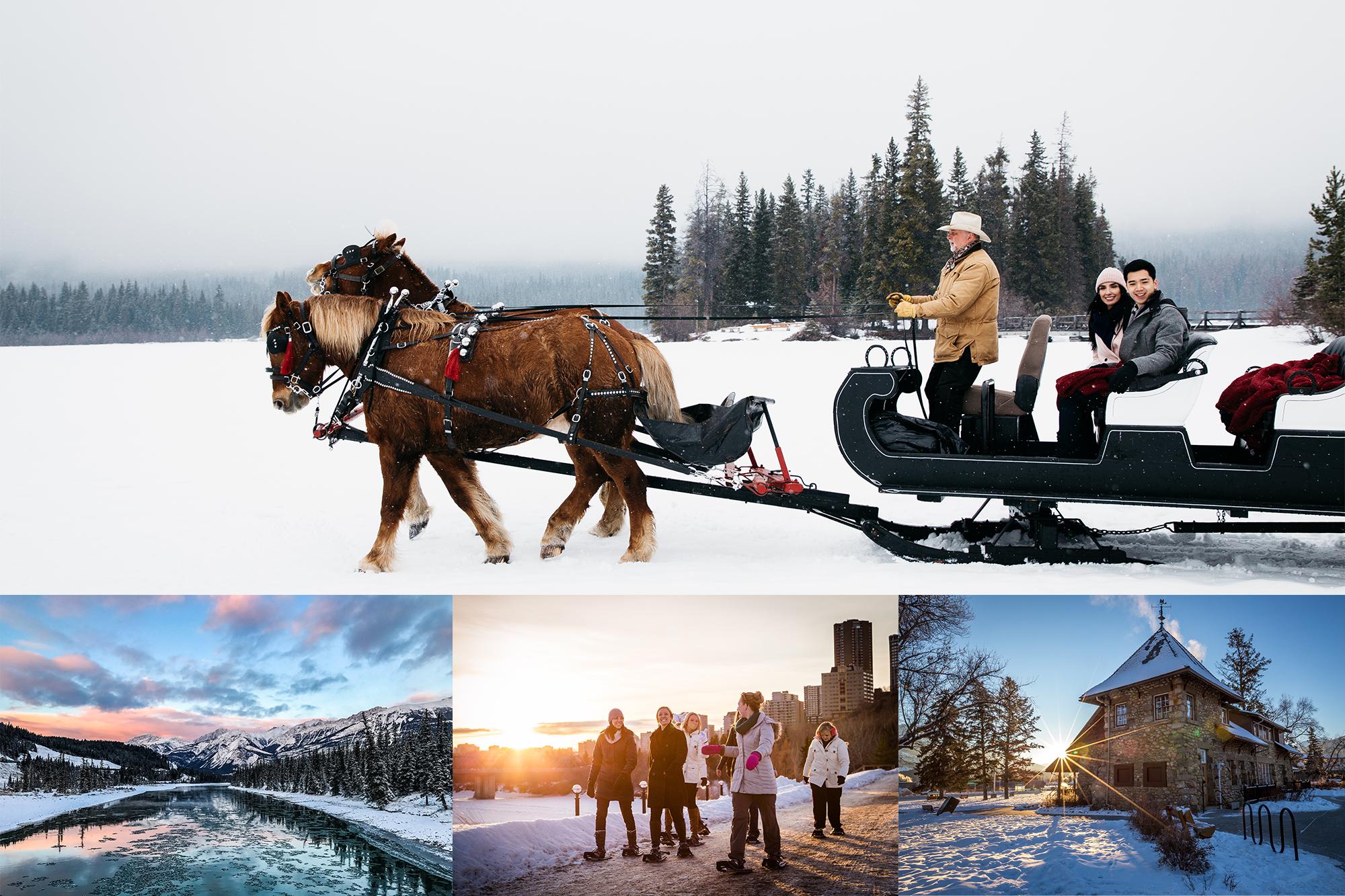 Exclusieve skivakantie in Canada, Edmonton en Jasper